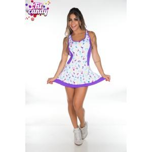 Фитнес платье Peafowl