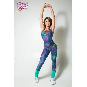 Комбинезон для йоги женский Bright dots
