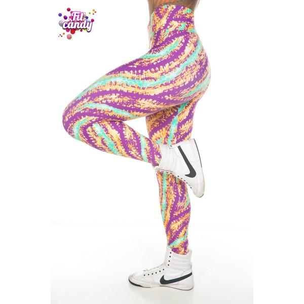 Спортивные легинсы для женщин Bright Kaleidoscope