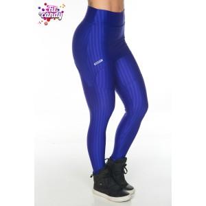 Легинсы для фитнеса спортивные с юбочкой Blue elegance