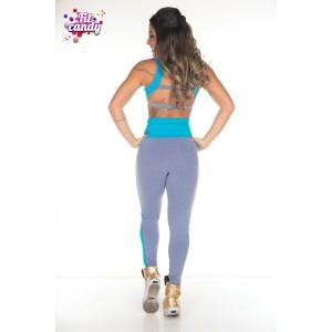 Костюм для фитнеса Blue & Grey