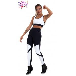 Костюм спортивный женский Black & White