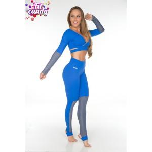 Костюм для фитнеса и спорта Deep blue