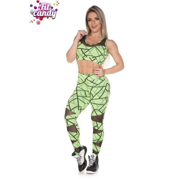 Комплект для йоги Green