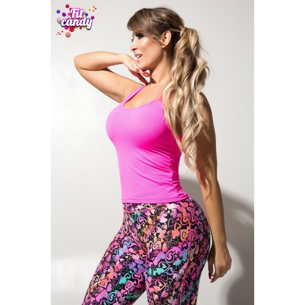Майка для фитнеса Pink