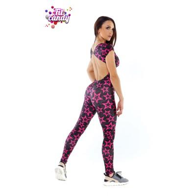 Комбинезон для фитнеса Pink Star