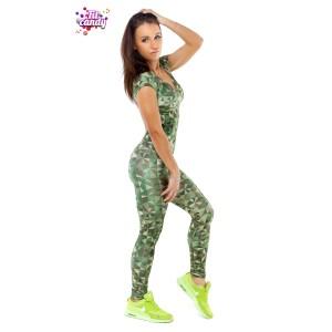 Спортивный комбинезон женский Green Camo