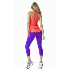 Бриджи спортивные женские для фитнеса Violet 2