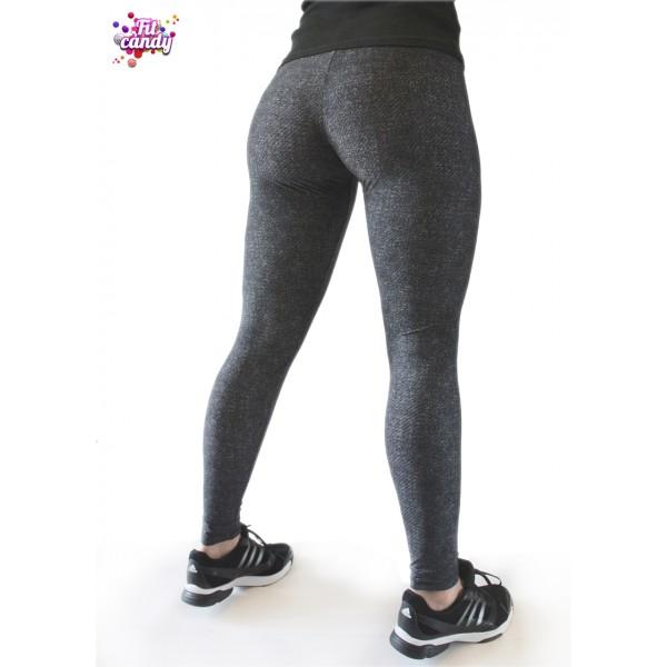 Легинсы для фитнеса черные Jeans