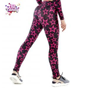 Спортивные лосины женские Pink Star