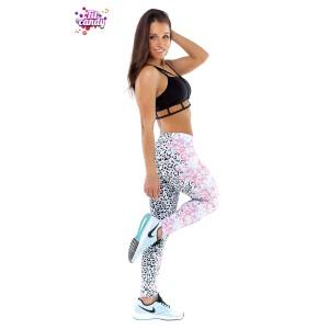 Комплект для танцев Flowers leopard