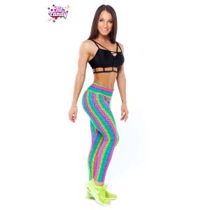 Костюм для танцев Rainbow leopard