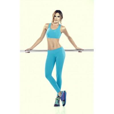 Спортивный костюм для йоги хлопок с эластаном Blue Wave 1